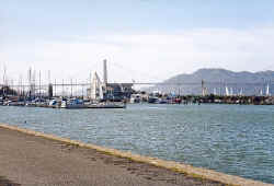 Marina Green Yacht Harbor and Marina    © 2000 Marilyn Straka